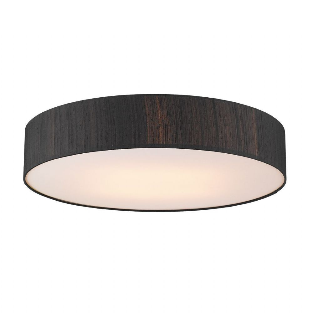 Paolo 4 Light 800MM Flush plus Silk Shade (Choose Colour) PAO48 (Hand made, 10-14 day Delivery)
